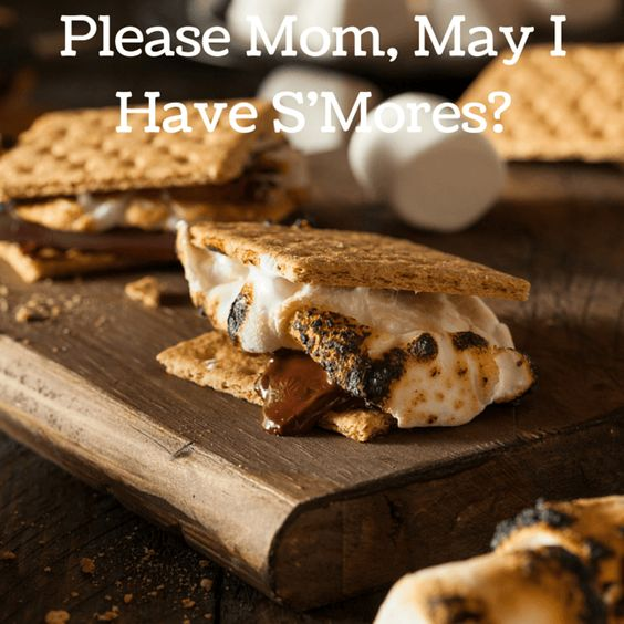 Please Mom, May I Have S'More? {Recipe Roundup} | Ramblings of a Bad Domestic Goddess | A collection of S'Mores recipes for kids of all ages