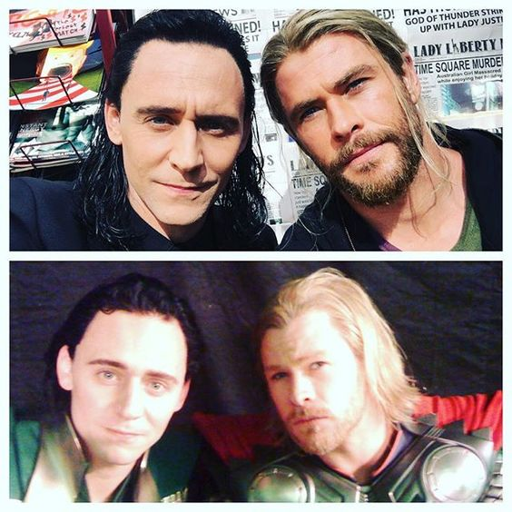 Pin for Later: Chris Hemsworth and Tom Hiddleston Have Had a Low-Key Bromance For Years When They Proved They Just Keep Getting Better With Age