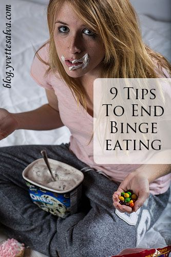 Do you find yourself eating more than your body needs to point where you eat till going to explode. It is binge eating and you can stop, read these tips