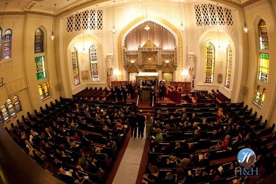 Park Avenue Synagogue wedding