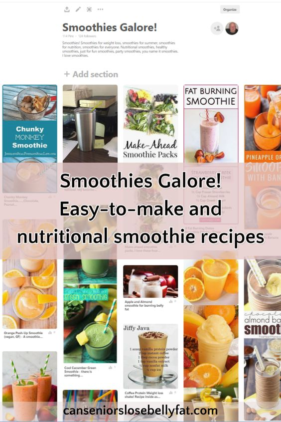 Smoothies Galore! Easy-to-make nutritional smoothie recipes and information. Looking for some easy-to-make, nutritional smoothie ideas? Take a look below at these super easy smoothie recipes and how to instructions I have collected on this page.
