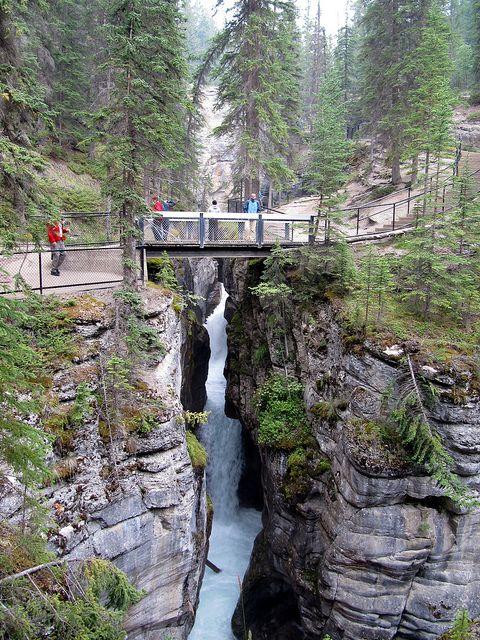 Maligne Canyon, Jasper National Park, Alberta, Canada: