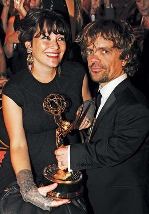 Peter Dinklage with his wife, Erica Schmidt | Game of ...