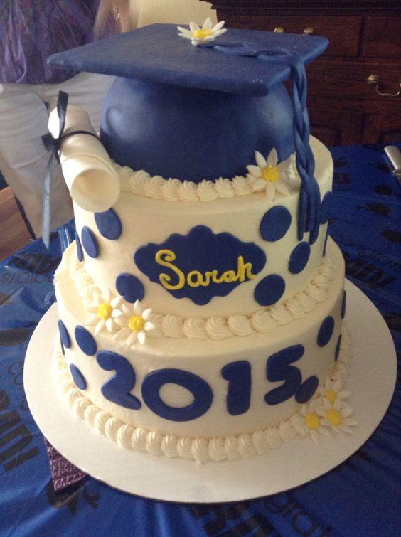 Graduation Cake Ideas For A Girl : Graduation cake for girls Bon Appetit Pinterest ...