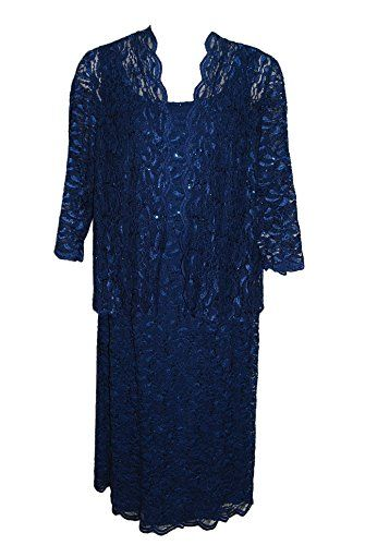 Alex Evenings 2pc Lace & Sequin Cocktail Dress & Jacket Navy (20W) Alex Evenings http://www.amazon.com/dp/B00P7L85F4/ref=cm_sw_r_pi_dp_OZSSub073ZKYT