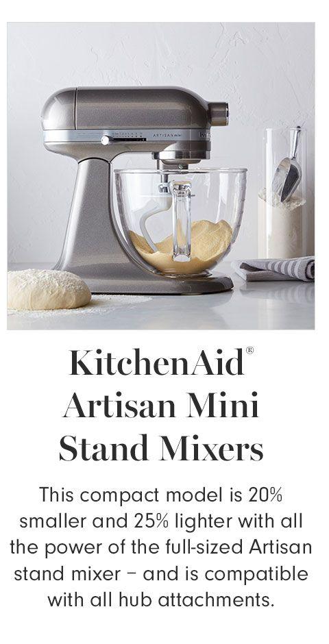 Kitchenaid Artisan Mini Stand Mixer With Flex Edge Beater 3 Qt In 2021 Kitchen Aid Kitchenaid Artisan Artisan
