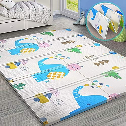 Baby Foam Play Mat Foldable Waterproof Reversible Playmat For Toddlers And Kids Compare And Shop The B In 2020 Best Baby Play Mat Baby Crawling Mat Baby Play Mat