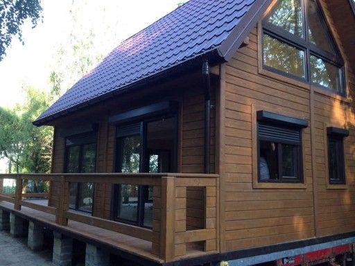 Domy Domki Z Drewna Letniskowe Bez Pozwolenia 70m2 Buczek Domy Z Bali 8441265583 Allegro Pl House Designs Exterior House Design Outdoor Decor