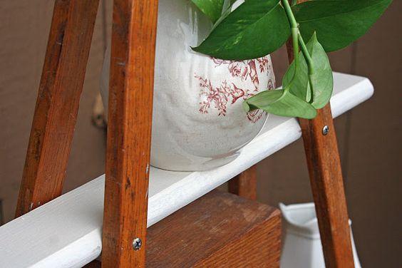 Mamie Jane's crutches shelf