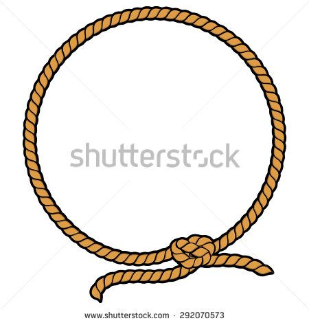 cowboy rope vector | design inspiration, design, rope  pinterest