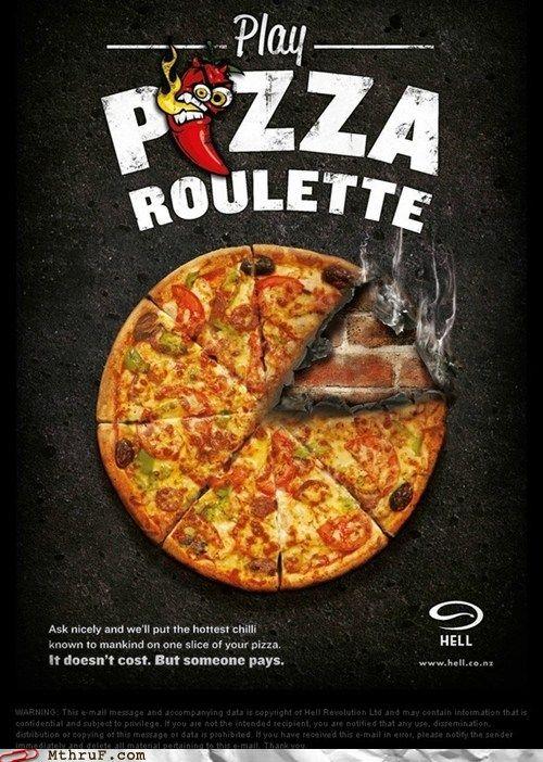 Pizza Roulette..Sounds kinda fun!