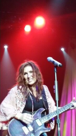 My 45th birthday Jo Dee Messina front row tickets loved it she is awesome