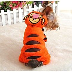 FUN OF PETS® Lovely Monkey Shape Costume Coat with Hoodie and Pants for Pets Dogs (Assorted Sizes)