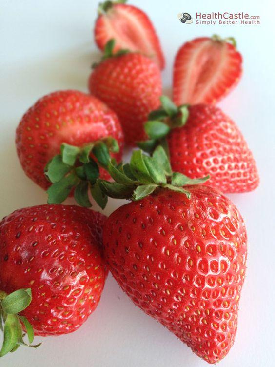 Strawberries: Health Benefits and How To via HealthCastle.com
