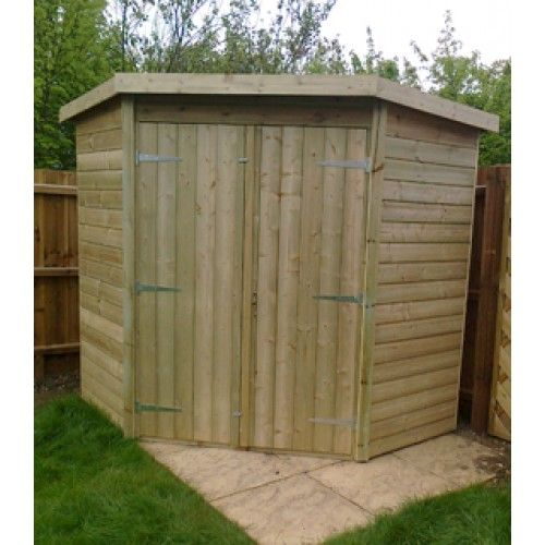 Revamp Your Unused Space Into One Of The Daintiest Corner Sheds Ever Decorifusta In 2020 Corner Sheds Building A Storage Shed Shed