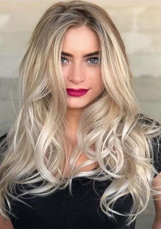 Incredible Long Blonde Hairstyles Haircuts For 2019 Hair Styles Long Hair Styles Long Hair Trends