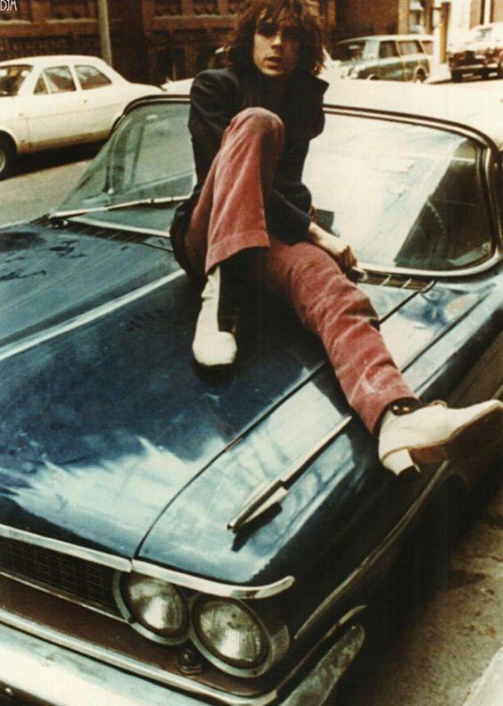 Syd Barrett of Pink Floyd