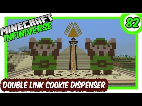 How To Make Pixel Art In Minecraft Bedrock Double Link Cookie Dispenser 82 Minecraft Bedrock Infiniverse Https Youtube Com Watch V Tntd Fx1rr8 With Images Minecraft Link Pixel Art
