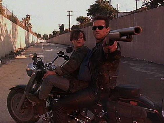 Terminator 2 - Directed by James Cameron, so much further than the eighties. Cameron did a wonderful technological job in this film. Frank Patrick's character had a limitless speed and could shape like anything he wanted. Arnold Schwarzenegger's character, the Terminator was also capable of doing impossible things. This film takes me down through my childhood.It's superb.