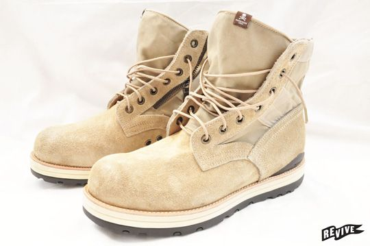 Mastermind Japan x Visvim 7-Hole '73 Folk Boots