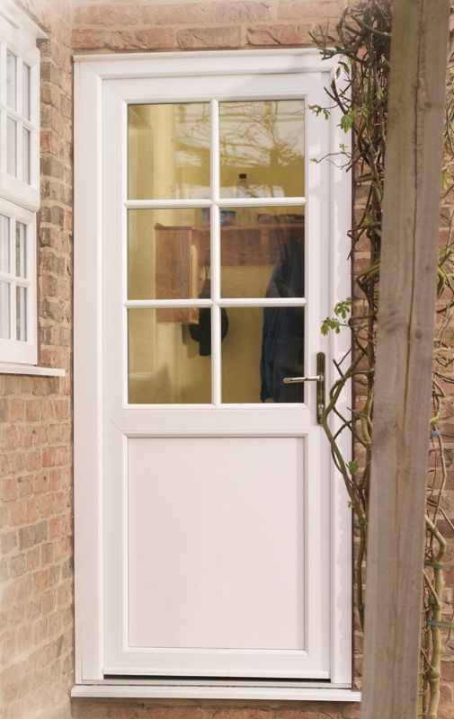 Traditional look upvc doors georgian bars google search for Exterior back doors for home