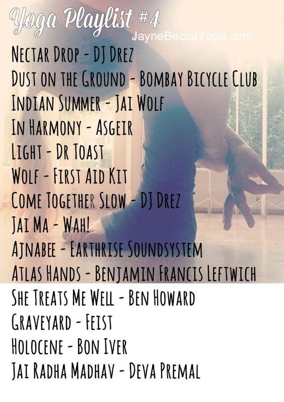 Vinyasa Flow Yoga Playlist #4 - JayneBeccaYoga
