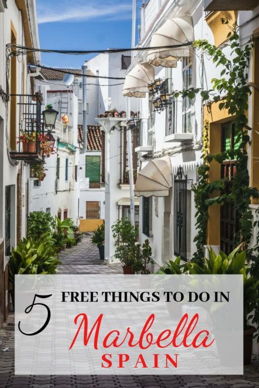 5 Free Things To Do In Marbella Spain With Kids The World Is A Book Marbella Spain Free Things To Do Marbella