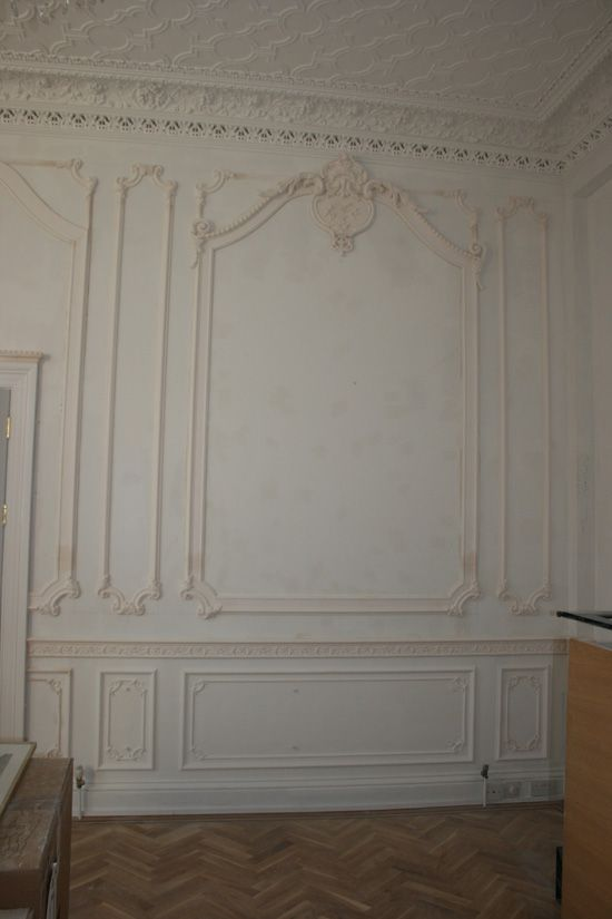 French style wall panelling Master bedroom Pinterest