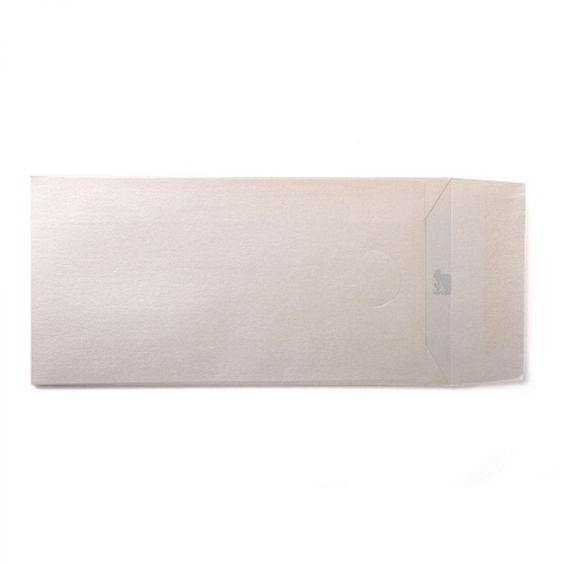 Opal Ivory DL Pearlescent Envelopes Pocket Seal -120GSM Pack Size : 25 Envelopes