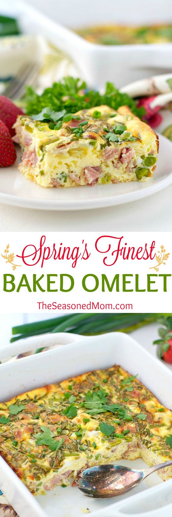 ... ham, and cheese, this healthy breakfast casserole celebrates all of