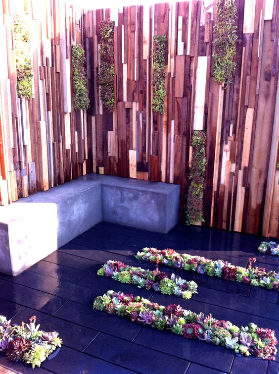 Succulent Planting. Garden designed by Jade Goto