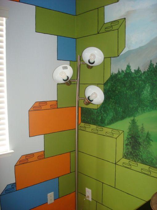 Lego Bedroom Decorating Ideas: Crazy Lego Room - Boys' Room Designs