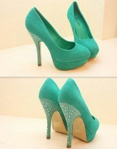 Mint high heels make em wedges then we can talk