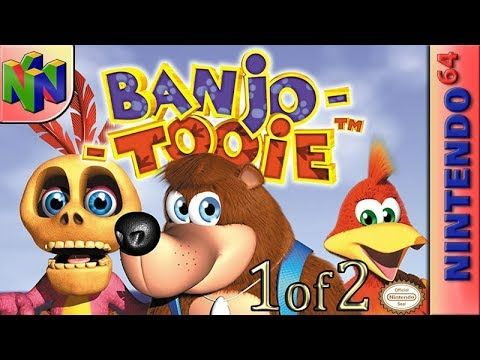 Youtube With Images Nintendo 64 Games Banjo Kazooie N64 Games
