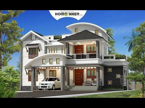 4 Bhk Beautiful Indian Villa Design In 2650 Sq Ft Video Kerala House Design Cool House Designs Villa Design