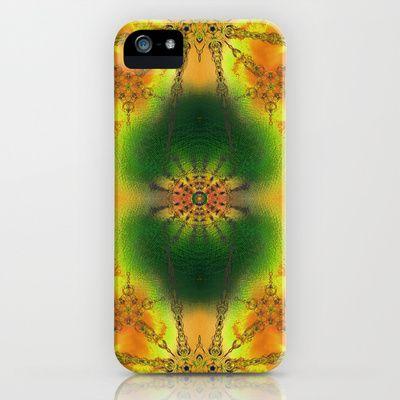 SPIRITUAL_in yellow iPhone & iPod Case by MiuRiO Decor - $35.00