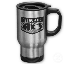Run MI Coffee Mug
