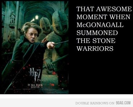 McGonagall is so badass.