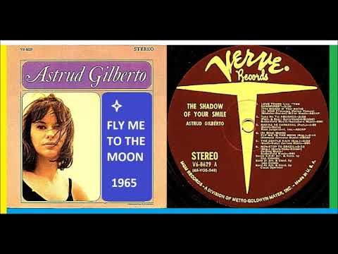 Astrud Gilberto Fly Me To The Moon Vinyl Youtube Vinyl