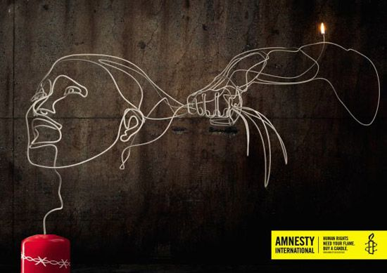 Amnesty International 50 Ans D'affiches Marquantes
