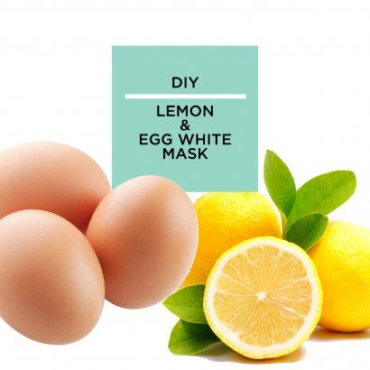 Egg white mask, Egg whites and Masks on Pinterest