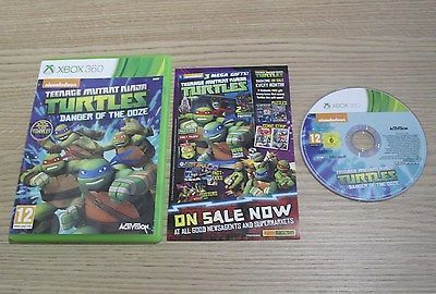 #Teenage mutant ninja #turtles danger of the ooze - pal - #microsoft xbox 360 gam,  View more on the LINK: http://www.zeppy.io/product/gb/2/302054297458/