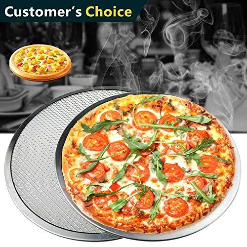 9 12 14 Pizza Screen Seamless Aluminum Chef S Baking Screen Commercial Grade Pizza Pan Supplies Kitchen Home Pan Pizza Pizza Chef