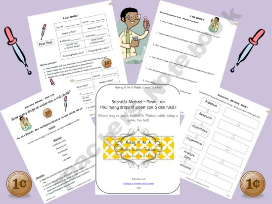 17 best images about Scientific Method on Pinterest Coins - scientific method worksheet