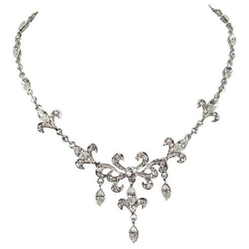 Swarovski Crystal NECKLACES | Home / Inspired Swarovski Crystal Diamante Necklace