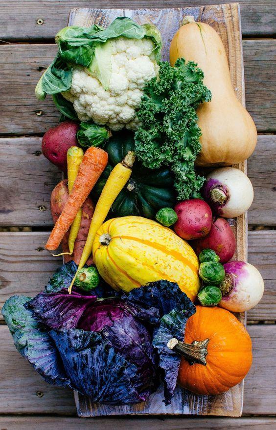 Nombre de calories dans les légumes