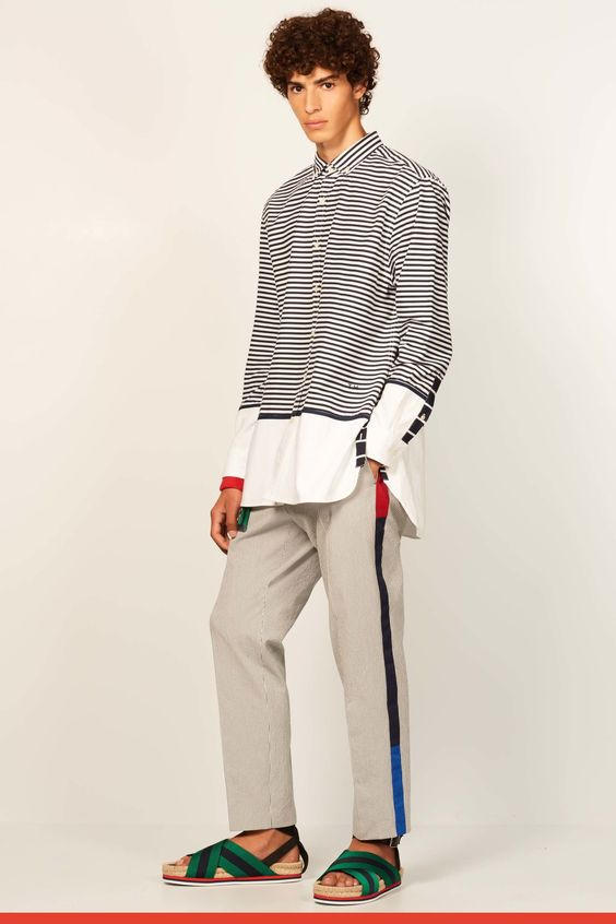 See the complete Tommy Hilfiger Spring 2017 Menswear collection.