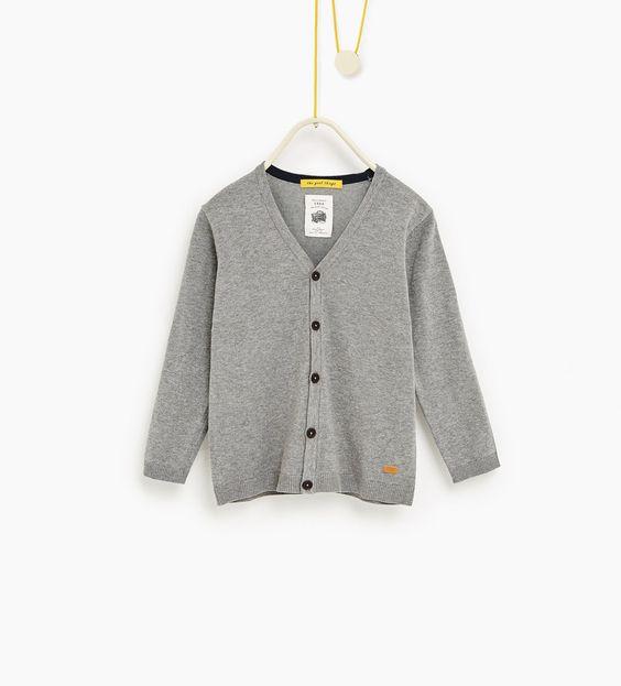ZARA - ENFANTS - Cardigan basique