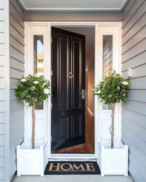 20 Beautiful Front Porch Planter Ideas For Outdoor Decor Wanda