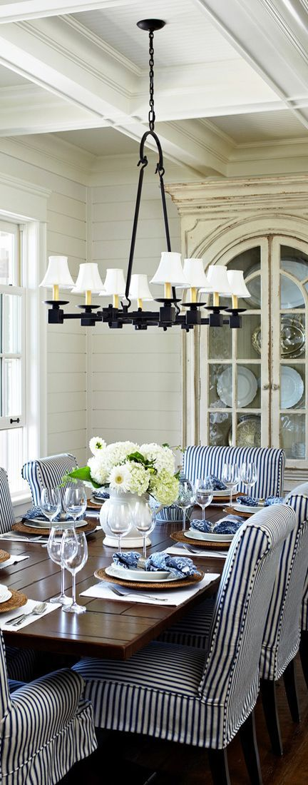 awesome Salle à manger - Coastal Decorating Ideas